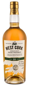 West Cork Distillers 10 Year Old Single Malt Whiskey 700ml