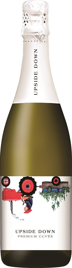 Upside Down Premium Cuvee Sparkling 750ml