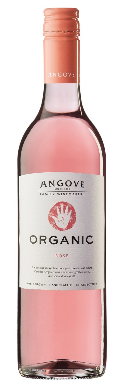 Angove Organic Rose 750ml (New)