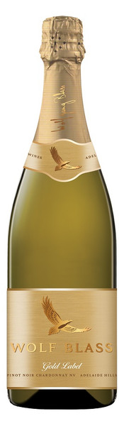 Wolf Blass Gold Label Adelaide Hills Pinot Chardonnay Sparkling 750ml