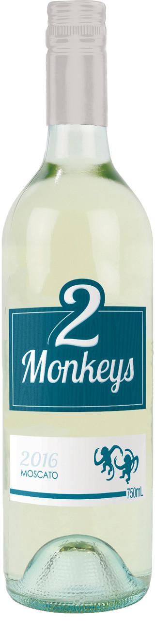 Two Monkeys Moscato 750ml