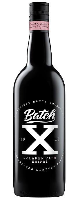 Batch X McLaren Vale Shiraz 750ml