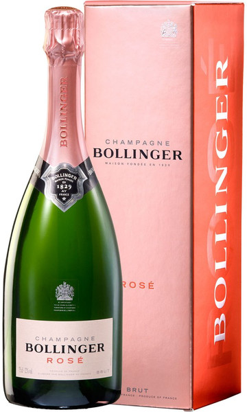 Bollinger Rose Champagne 750ml