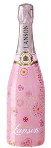 Lanson Pink Label Brut Rose NV 750ml