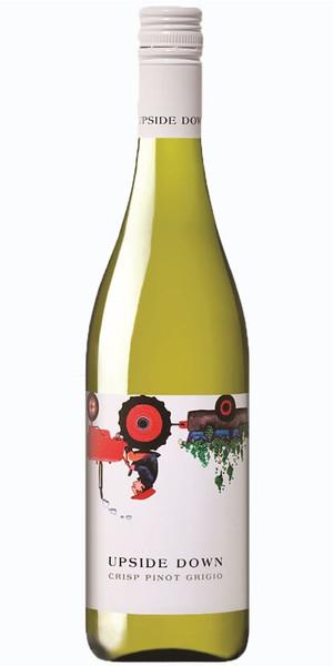 Upside Down Crisp Pinot Grigio 750ml