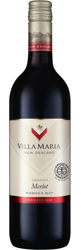 Villa Maria Organic Merlot 750ml