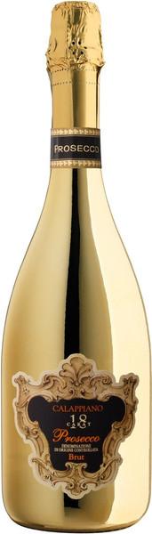 Calappiano 18K Gold Prosecco Brut DOC 750ml