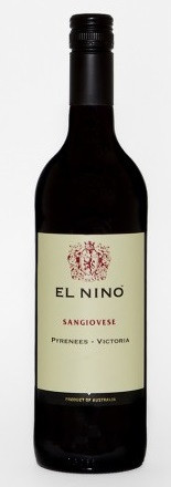 Massoni El Nino Sangiovese Pyrenees Ranges 750ml