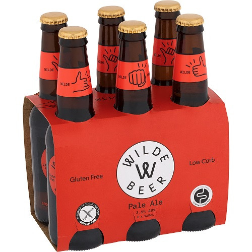 Wilde Gluten Free Pale Ale 24 x 330ml Bottles