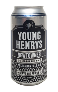 Young Henrys Newtowner Australian Pale Ale 24 x 375ml Cans
