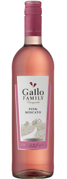 Gallow Family Vineyards Pink Moscato 750ml