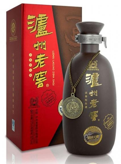 Luzhou Laojiao Zisha Daqu Baijiu 500ml