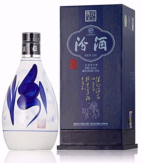 Fenjiu 30 YEAR Blue and White 30 48% 500ML 汾酒青花 30 年