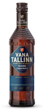 Vana Tallinn Dark Liquorice Estonian Liqueur 500ml Bottle