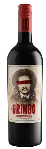 El Gringo Dark Red Tempranillo 750ml