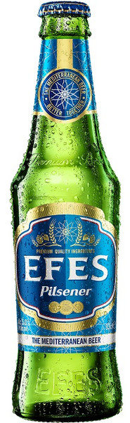 Efes Pilsener 24 x 330ml bottles