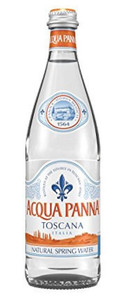 Aqua Panna Natural Mineral Water 24 x 500ml Glass Bottles