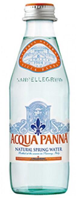 Aqua Panna Natural Mineral Water 24 x 250ml Glass Bottles