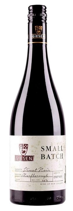 Giesen Small Batch Marlborough Pinot Noir 750ml