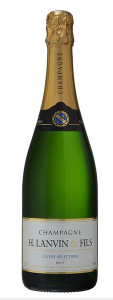 H. Lanvin & Fils Cuvee Selection Brut Champagne 750ml