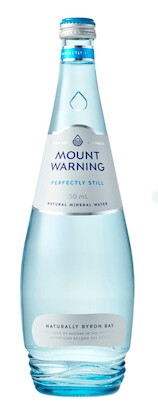 Mount Warning Perfectly Still Mineral Water 12 x 750ml Bottles