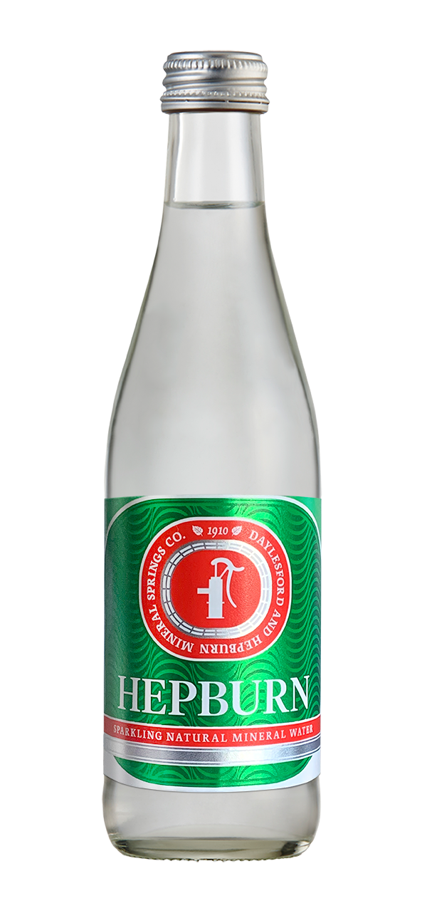 Daylesford and Hepburn Sparkling Natural Mineral Water 12 x 750ml Bottles