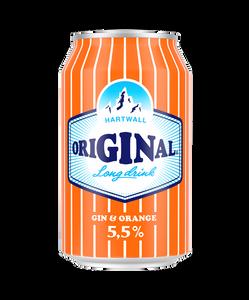 Hartwall Original Long Drink Orange 24 x 330ml Cans