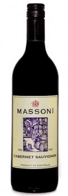 Massoni Estate Cabernet Sauvignon Pyrenees Ranges 750ml