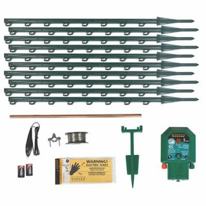 Zareba Garden Portector Battery Powered Electric Fence Kit