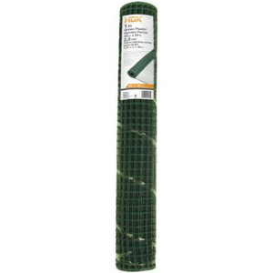 "Everbilt Green Plastic Garden Fence - 40"" by 25'"