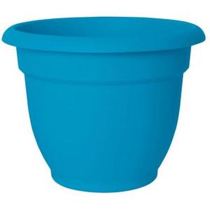 """Fiskers Ariana Plastic Pot - 17"""" Tall - Blue"""