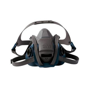 3M Medium Quick Latch Half Face Piece Respirator