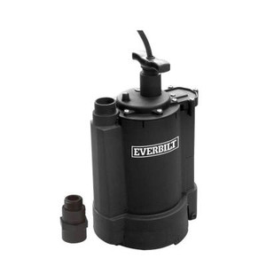 Everbilt 1/3 HP Automatic Submersible Pump