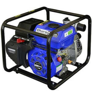 DuroMax 7 HP 2 in. Portable Utility Gas Powered Water Pump