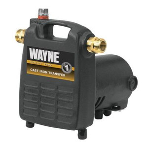 Wayne 1/2 HP Cast Iron, Portable Transfer Utility Pump