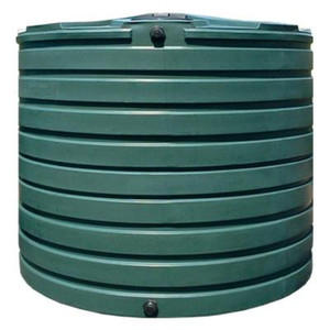 VPC 2,825 Gal. Dark Green Water Tank