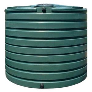 VPC 2,825 Gal. Dark Green Water Tank
