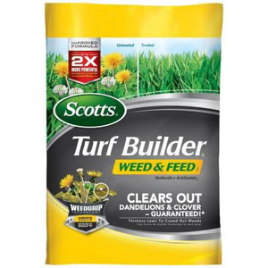 Scotts 43 lb. 15 M Turf Builder Weed and Feed