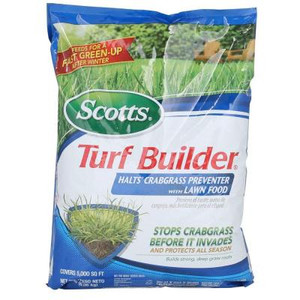 Scotts Turf Builder Fertilizer with HALTS Crabgrass Preventer 5,000 sq. ft.