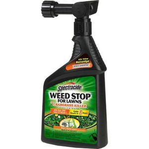 Spectracide 32 oz. Ready-to-Spray Weed Stop Concentrate for Lawns Plus Crabgrass Killer