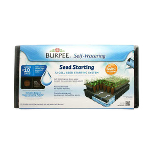 Burpee 72 Cell Self-Watering Greenhouse Kit