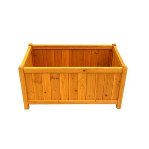 Leisure Season Cedar Planter Box - 32""