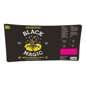 Black Magic Seed Starter Tray