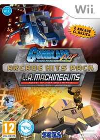 Arcade Hits Pack - Gunblade NY + LA Machineguns (Wii)