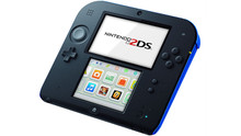 Nintendo 2DS Black/Blue Console