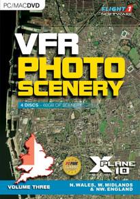 VFR PHOTO SCENERY FOR X-PLANE 10 VOLUME 3 (PC, Mac)