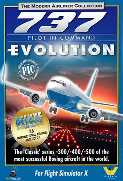737 Pilot in Command Evolution Deluxe Edition (PC)