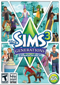 The Sims 3: Generations Expansion Pack (PC, Mac)
