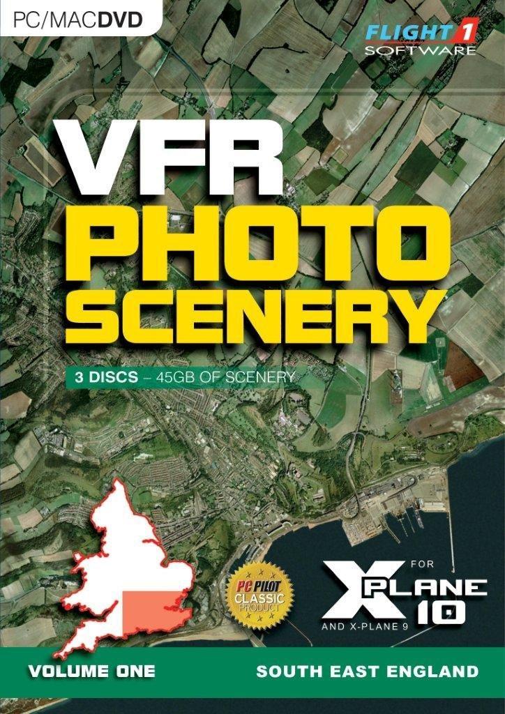 VFR PHOTO SCENERY FOR X-PLANE 10 VOLUME 1 (PC, Mac)