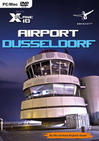 Airport Dusseldorf (X-Plane 10) (PC, Mac)